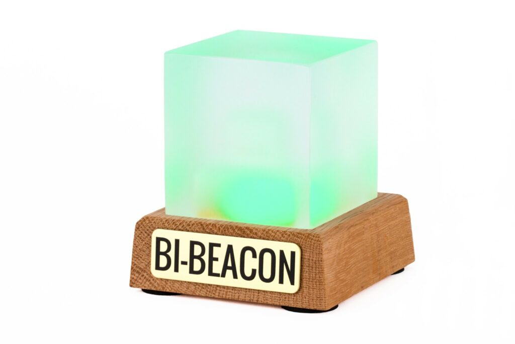 BI-Beacon sign-up indicator